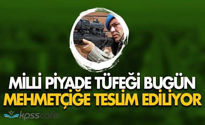 Yerli Yapım Piyade Tüfeği MPT-76 Mehmetçiğe Teslim Ediliyor!