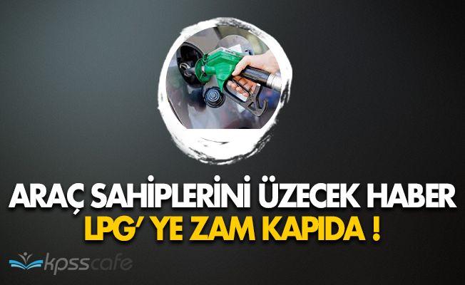 Araç Sahiplerini Üzecek Haber: Otogaza Zam Yapıldı!