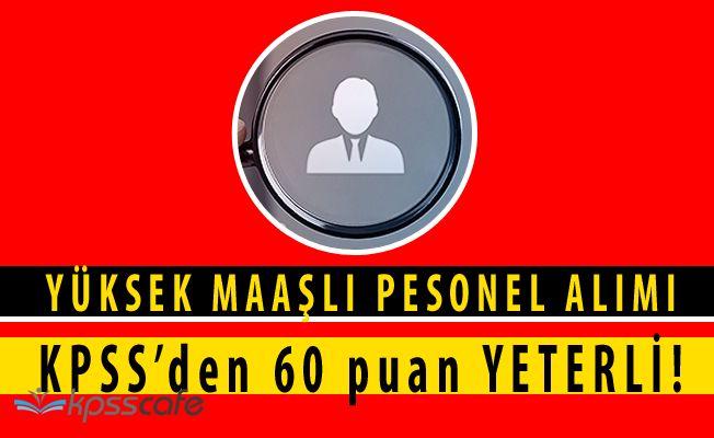 Aile Bakanlığı SYDV KPSS'den 60 Puan ile Kamu Personeli Alacak