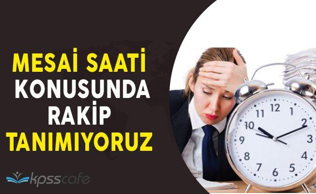 Türkiye Mesai Saatleri Konusunda Diğer Ülkeleri Solladı