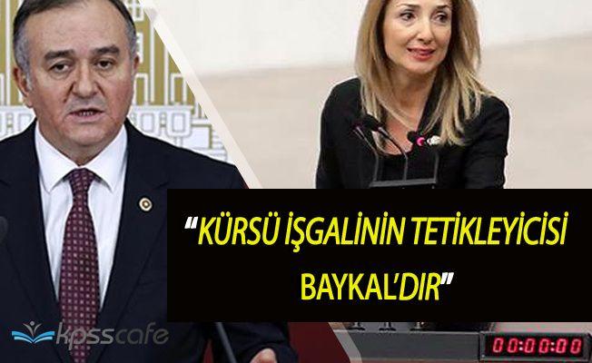 """Erkan Akçay: """"Kürsü İşgalinin Tetikleyicisi Deniz Baykal'dır"""""""