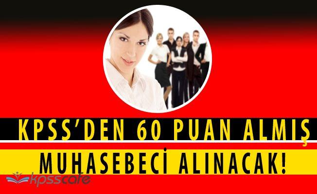 Ulubat Gölü Sulama Birliği KPSS'den 60 Puan ile Muhasebeci Alacak