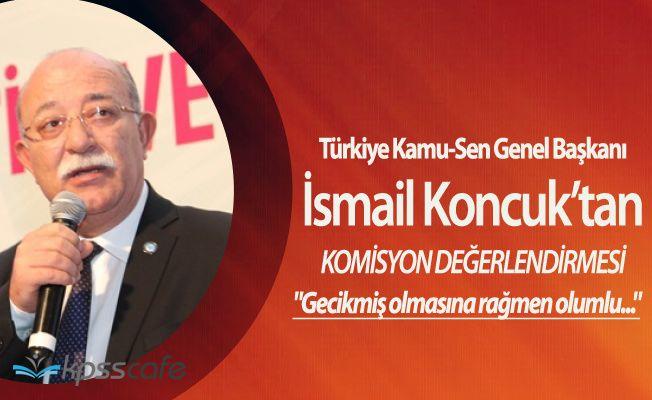 """Türkiye Kamu-Sen Genel Başkanı İsmail Koncuk:""""Devlet Aklı Dediğimiz Şey!"""""""