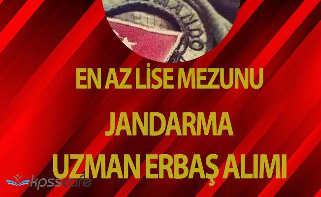 Sözleşmeli Uzman Erbaş Alımı Başvuruları Başladı (Jandarma Komando - Asayiş)