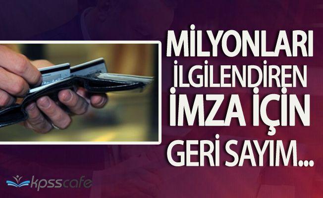 Sicil Affının Yürürlüğe Girmesi İçin Geri Sayım Başladı! Gözler Erdoğan'da