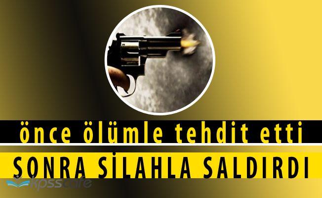İl Milli Eğitim Müdürüne Silahlı Saldırı Girişimi
