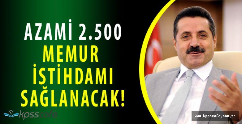 Tarım Bakanı Açıkladı! En Az 2.500 Personel Alınacak