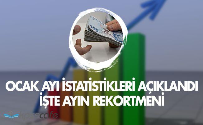 TÜİK Ocak Ayı Enflasyon Rakamlarını Açıkladı!