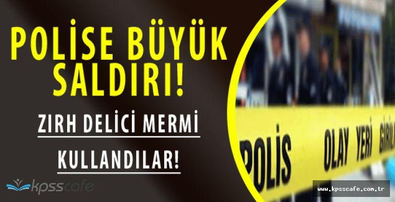 Gaziantep'te Polise Zırh Delici Mermi ile Saldırı!