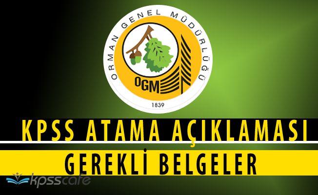 Orman GM'den 2828 Sayılı Kanun Kapsamında KPSS Atama Duyurusu