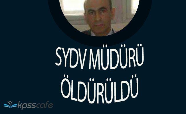 Konya Ereğli SYDV Müdürü Öldürüldü