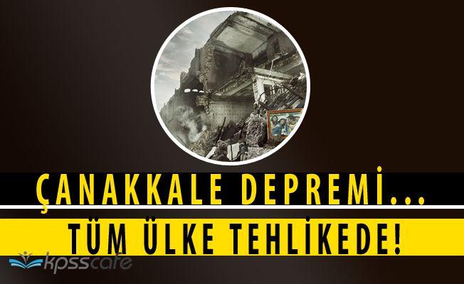 Kandilli Açıkladı! Türkiye Genelinde ''7.2 Şiddetinde Deprem Sürpriz Olmaz''