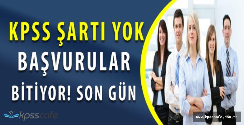 Erciyes Üniversitesi KPSS'siz Personel Alım Başvurularında Son Günler