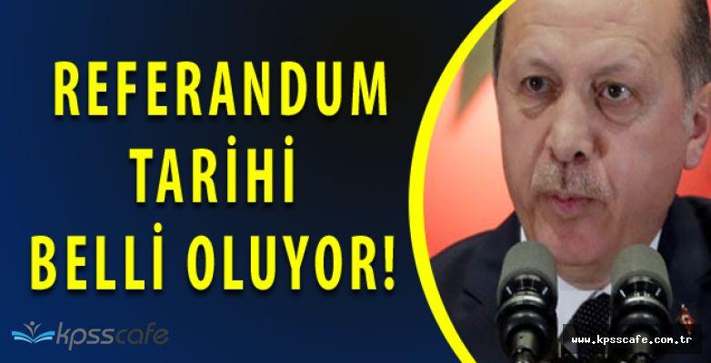 Tayyip Erdoğan'dan Kritik Referandum Açıklaması! Tarih Bu Hafta Belli Olabilir