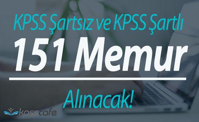 KPSS Şartsız ve KPSS Puanlarıyla Memur Alımı Online Başvuruları Devam Ediyor