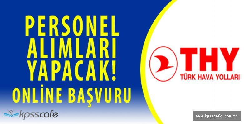 Türk Hava Yolları Personel Alım İlanı Yayımladı! Başvurular Başladı