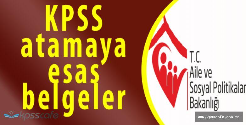Aile ve Sosyal Politikalar Bakanlığı'nın 2828 Sayılı Kanuna Dair Atama Açıklaması