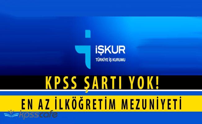 Develi Ovası Sulama Birliği En Az İlköğretim Mezunu İşçi Alımı Yapacak (KPSS ŞARTSIZ)
