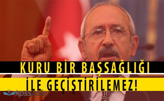 Kılıçdaroğlu; Rusya'nın Şehit Ettiği Askerlerimiz Kuru Bir Başsağlığı ile Getiştirilemez