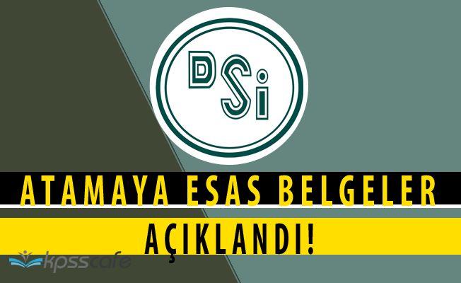 Devlet Su İşleri'nden KPSS Atama Açıklaması (3713 Nolu Kanun)