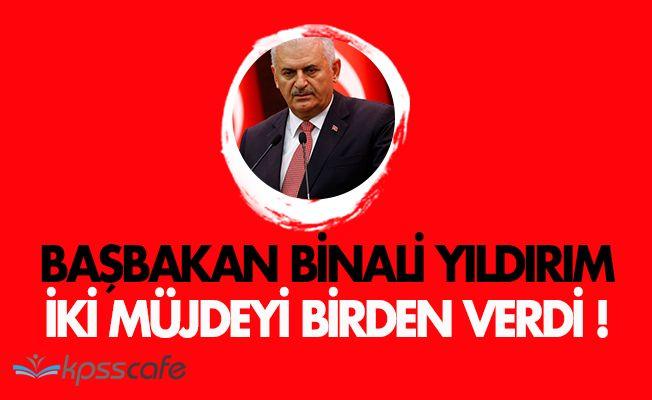 Başbakan Binali Yıldırım, Aksarayda İki Müjdeli Haber Verdi!