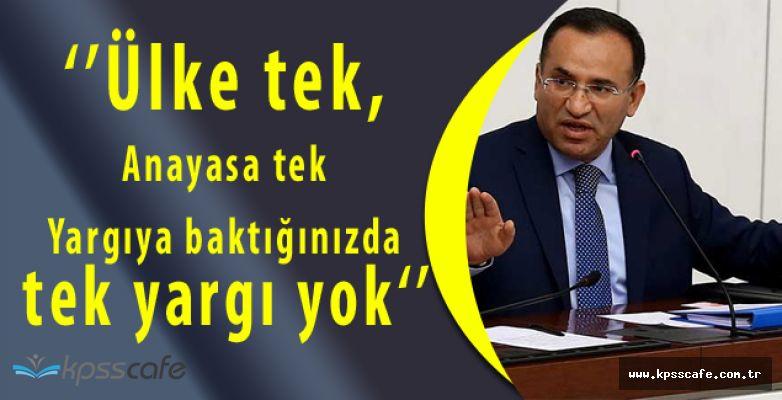 Adalet Bakanı Bozdağ Açıkladı! Yargıda Çift Başlılık Ortadan Kalkacak