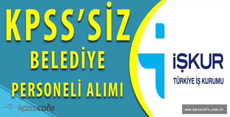 Türkeli Belediyesi'ne KPSS Şartsız İlköğretim Mezunu Personel Alımı (Başvurular Bitiyor)