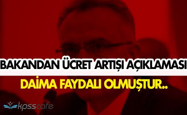 Maliye Bakanı Naci Ağbal'dan Ücret Artışı Açıklaması!