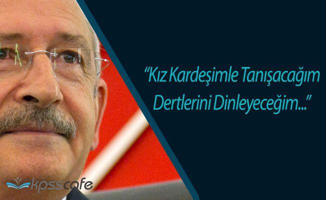 Kemal Kılıçdaroğlu'ndan Başörtülü Kıza Saldırıyla İlgili Açıklama