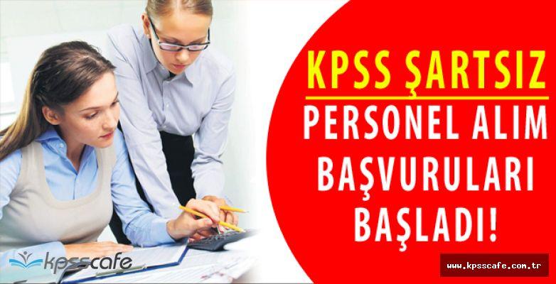 Bucak Belediye Başkanlığı KPSS ŞARTSIZ Personel Alacak