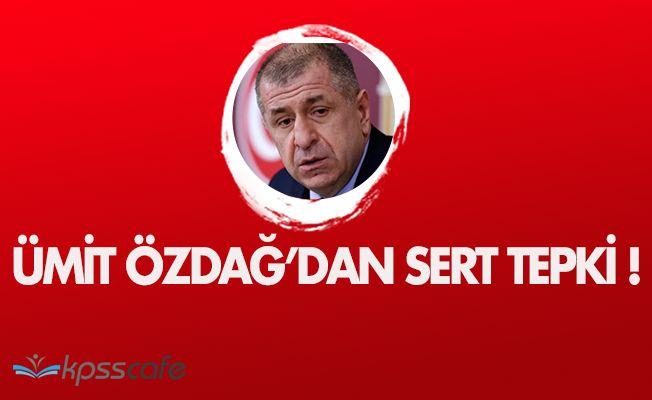 """Ümit Özdağ'dan """" İç savaş çıkar """" diyen AKP' liye Sert Tepki!"""