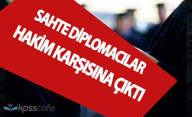 Atanayan Öğretmenlere Sahte Diploma Düzenleyenler Hakim Karşısında !