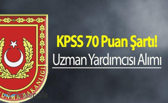 MSB KPSS 70 Puanla Uzman Yardımcısı Alımı Başvurular Sürüyor