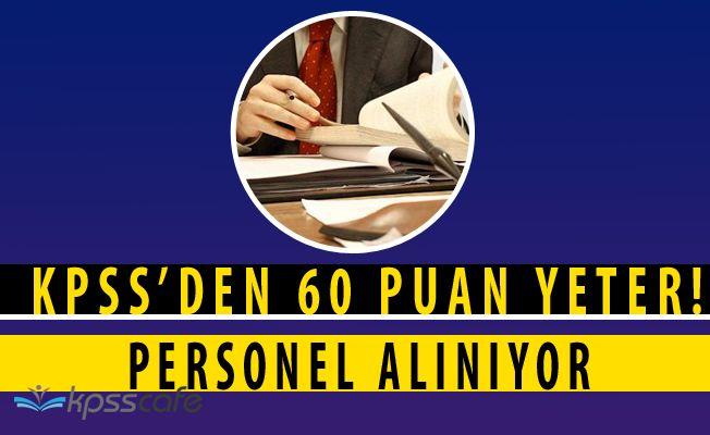 Ulubat Gölü Sulama Birliği KPSS'den 60 Puan ile İşçi Alımı Yapacağını Açıkladı