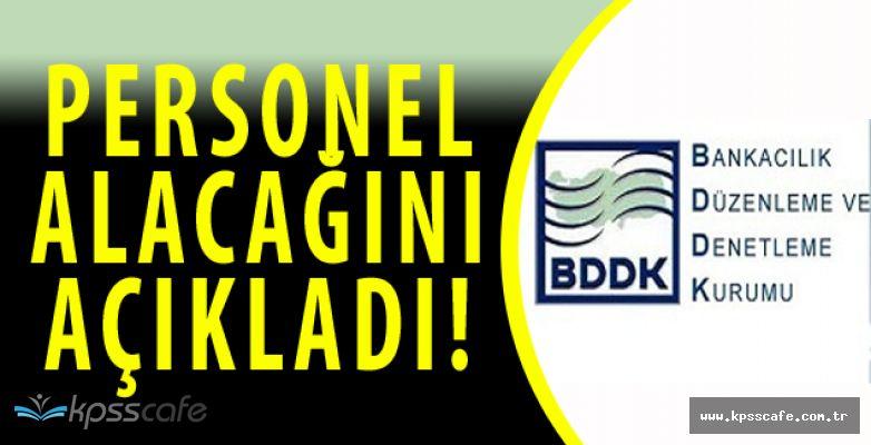 DPB'de Yayımlandı! BDDK 100 Personel Alımı Yapacak