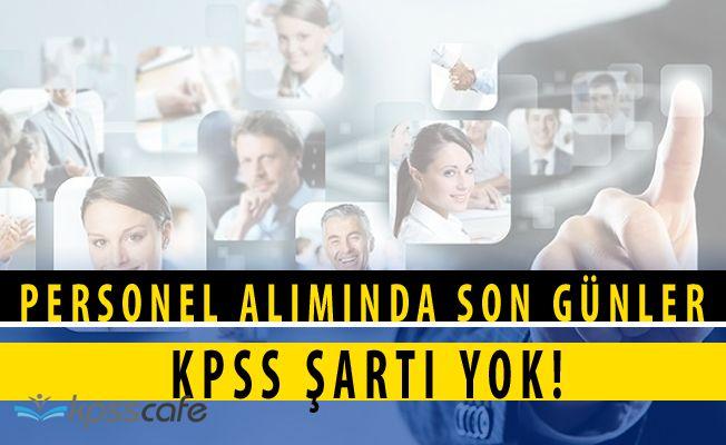 Akhisar Belediye Başkanlığı KPSS ŞARTSIZ Personel Alımı Başvuruları Bitiyor
