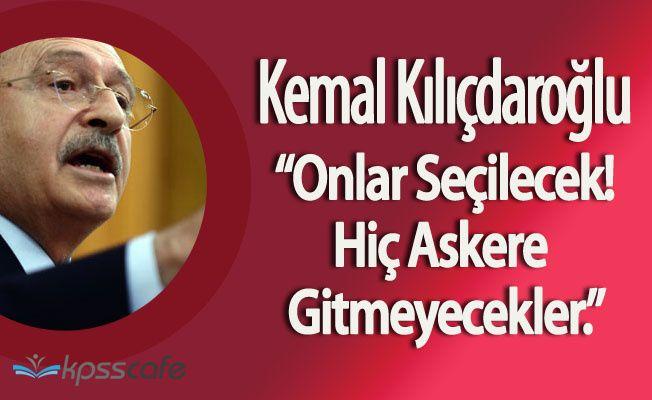 """CHP Genel Başkanı:"""" Senin Çocuğuna Neden Olmuyor Şehitlik?"""""""