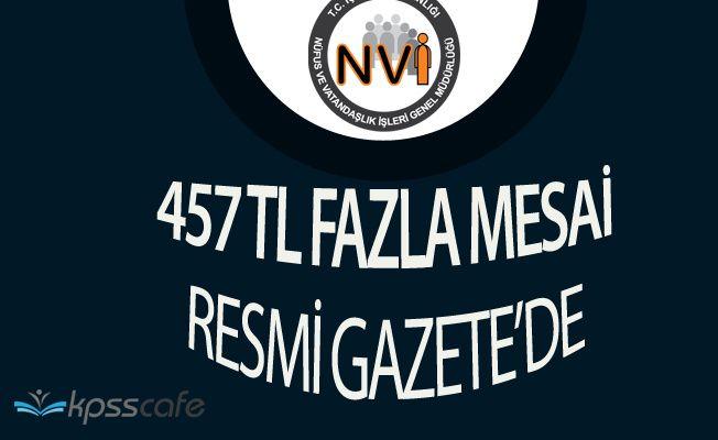 Türk Büro Sen'in Çalışmaları Meyvesini Verdi! Nüfus Memurlarına Fazla Mesai Ücreti