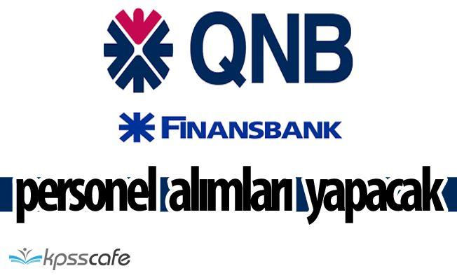 QNB Finansbank Lise Mezunu Satış Temsilcisi Alımı Yapacak