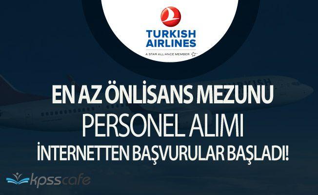 Türk Hava Yolları (THY) Tecrübeli Personel Alacak ( En az Önlisans Mezunu)