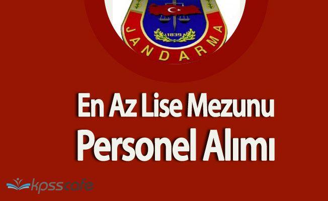 Jandarma Lise Mezunu Personel Alacak ( İnternetten Başvuru İşlemleri Sürüyor)