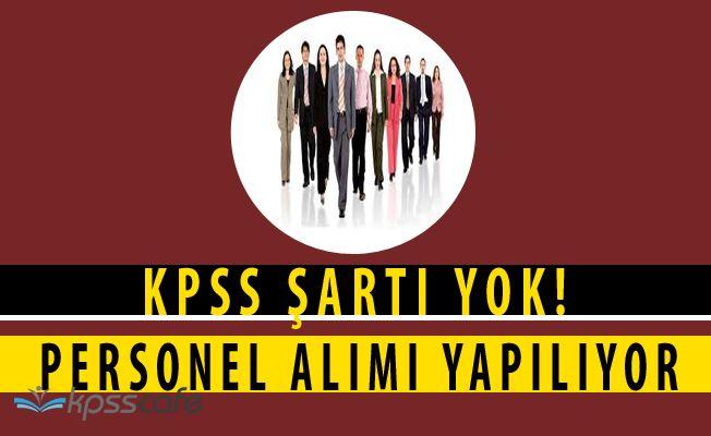 Belkız Nizip Pompaj Sulama Birliği KPSS ŞARTSIZ Personel Alacak