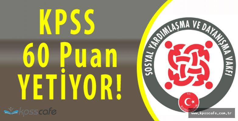 Karabağlar SYDV Personel Alımı Sürüyor (KPSS 60 Puan)