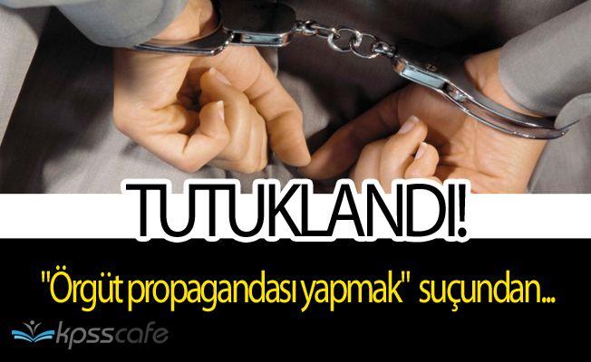 """Muhabir Yücel """"Halkı kin ve düşmanlığa tahrik""""den Tutuklandı"""