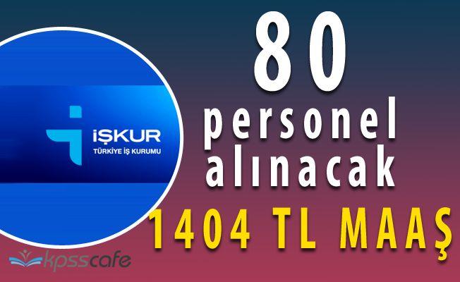 Milli İstihdam Seferberliği Kapsamında Belediyeye 1404 TL Maaş ile 80 Personel Alınacak
