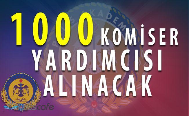 Polis Akademisi 1000 Komiser Yardımcısı Alımı Yapıyor (50 kadın / 950 erkek)