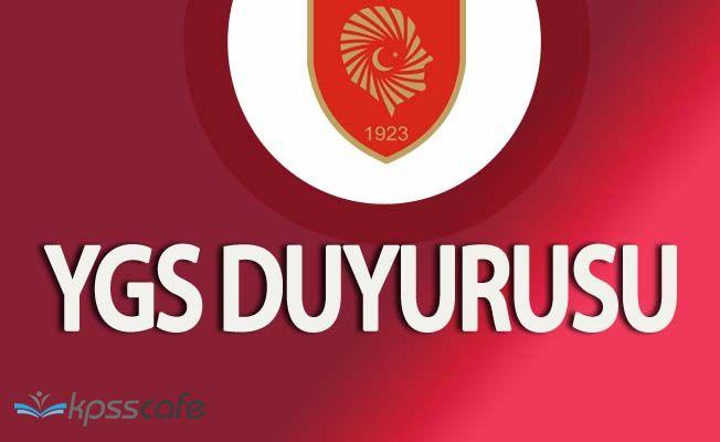 Ankara Valiliğinden 12 Mart YGS Duyurusu!