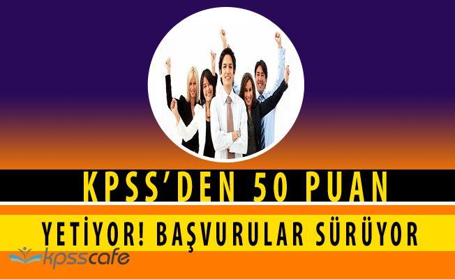 İl Özel İdaresi Personel Alımı Sürüyor (KPSS 50 Puan)