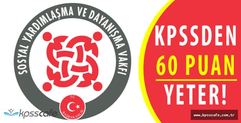 Karabağlar SYDV KPSS 60 Puan Personel Alımında Son Gün!