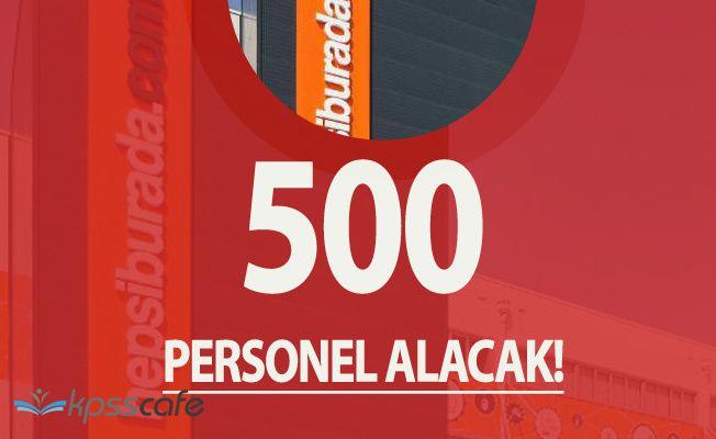 İnternetin Dev İsmi Hepsiburada 500 Personel Alımı Yapacak!